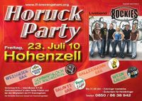 Horuckparty@Festhalle