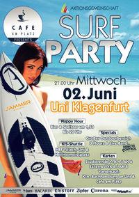 Surf Uni Party@Alpen Adria Universität