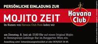 Mojito Zeit@Burggarten Wien