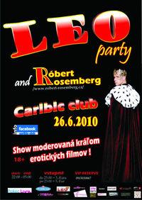 LEO PARTY s Róbertom Rozembergom@Caribic Club