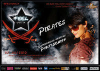 FEEL vol. X - PIRATES@Schiffsanlegestelle Lentos