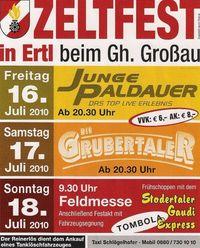 Zeltfest der FF-Ertl@Gasthaus Großau
