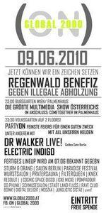 On Global 2000 - Große Regenwald-Benefiz@Volksgarten Clubdisco