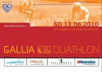 6. Gallia Duathlon@Sportplatz Gallneukirchen