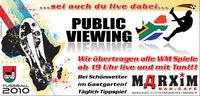Public Viewing WM 2010 Start