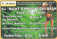 Dj Night X-Press Birthday Bash@Johnnys - The Castle of Emotions