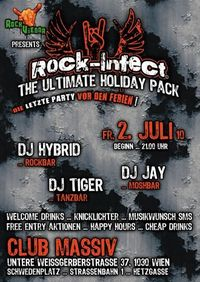 Rock-Infect: Holiday Pack@Club Massiv