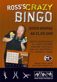 Ross´s Crazy Bingo@Monkeys