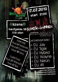 Rock-Infect: Jay's Birthday Bash@Szene Wien