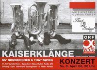 Kaiserklängekonzert@VZ Gunskirchen