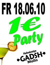 1€ Party@Gadsh