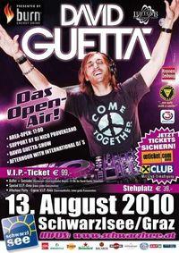 DAVID GUETTA *live*@Schwarzl See