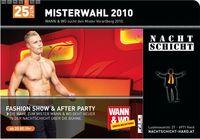 Wahl zum Mister Vorarlberg@Nachtschicht