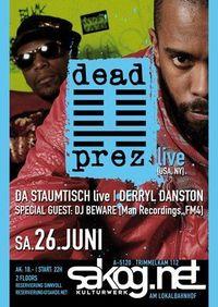 Dead Prez live@Kulturwerk Sakog