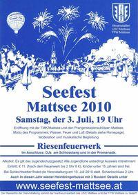Seefest Mattsee@Seepromenade Mattsee