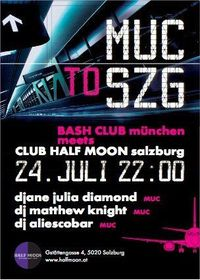 MUC to SZG@Half Moon