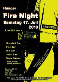 Haager Fire Night@Feuerwehrhaus Pinnersdorf