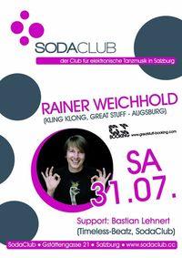 Soda Club pres. Rainer Weichhold@Soda Club