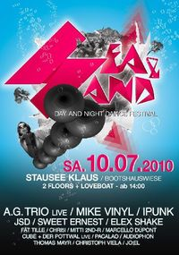Sea and Sand - Day and Night Dance Festival@Boothauswiese Stausee Klaus