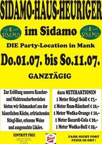 Sidamo-Haus-Heuriger@Cafe Sidamo Mank