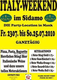 Italy-Weekend im Sidamo@Cafe Sidamo Mank