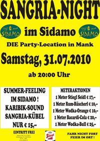 Sangria-Night im Sidamo@Cafe Sidamo Mank