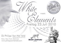 White Elements@Cafe Restaurant Strandbad Schiefling