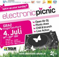 electronic picnic graz - der Sommer kann kommen!@Augartenpark