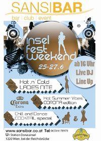 Inselfest Weekend@Sansibar