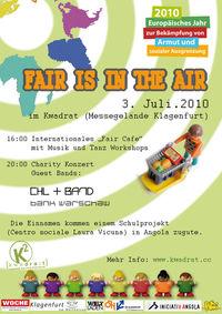 Fair Is In The Air - Charity Konzert@[kwadra:t]