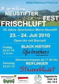 Neustifter Frischluftfest@Sportunion