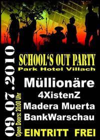School Out Party@Bambergsaal / Park Hotel Villach