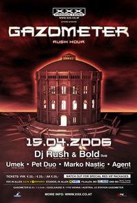 XXX Gazometer - Rush Hour@Turm B