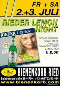Rieder Lemon Night@Bienenkorb Ried