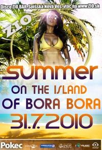 Summer On The Islan Of Bora Bora@Zio bar