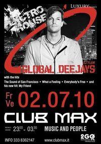 Global Deejays - Dj Flow @ club Max@Club Max