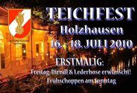 Teichfest d. FF Holzhausen Tag 1@Pfarrerteich