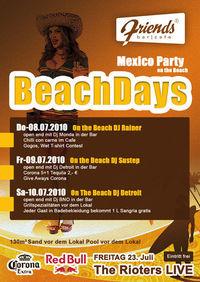 Beachdays Mexico Party@Friends Show-Cocktailbar