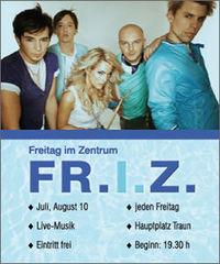 Freitag im Zentrum 2010 - LI+DO Blues-Band @Hauptplatz Traun
