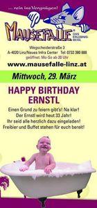 Happy Birthday Ernstl