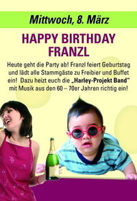 Franzl's Geburtstagsfeier