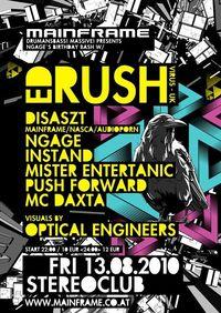 Mainframe Present Ed Rush@((stereo)) Club