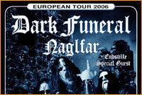 Black Metal European Tour 2006@Rockhouse