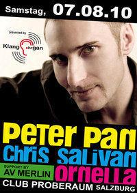 Peter Pan, Chris Salivan & Ornella@Proberaum
