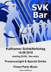 SVK Bar @Kallhamer Festgelände
