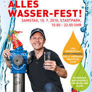 Wasserfest im Wiener Stadtpark @Stadtpark Wien