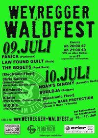 Weyregger- Waldfest.@Festzelt