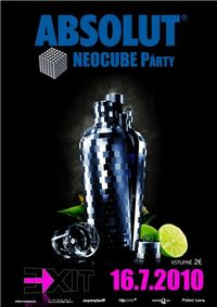 Absolut Neocube @Exit VIP Club