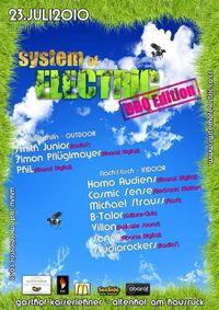 System of Electric - BBQ Edition@Gasthof Kaiserlehner
