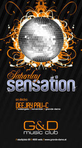 Saturday Sensation with Pau-C@G&D music club